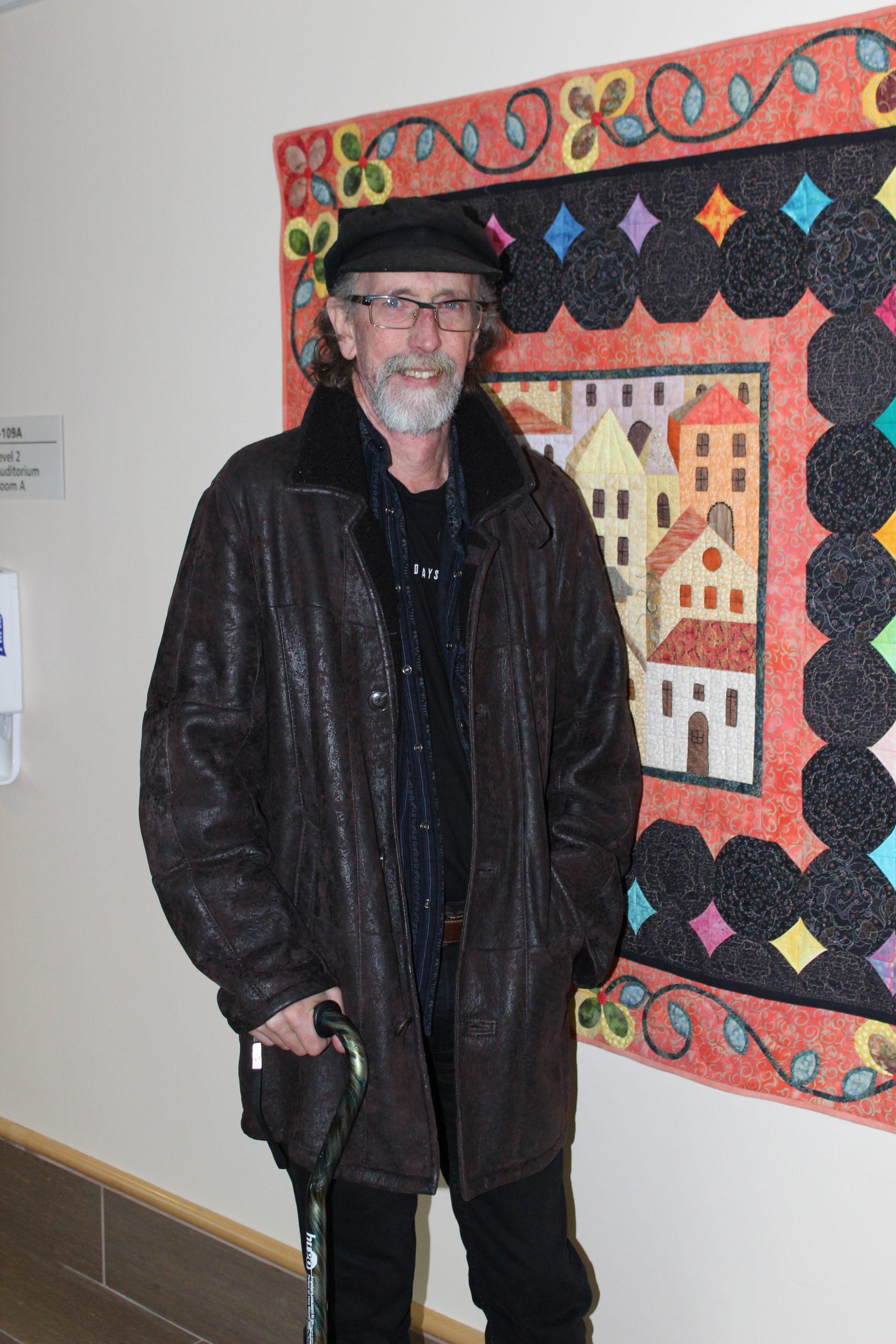 Image of Bill standing at St. Joseph's